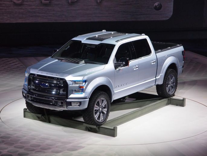 Ford Atlas (F-150) Concept