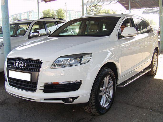 31. Audi Q7. 2007 года, пробег 102 000 км. 55 000 у.е
