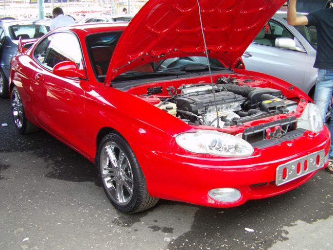 11.Hyundai Tiburon. 1997 год. Пробег - 131 000 км, цена - 13 000 у.е