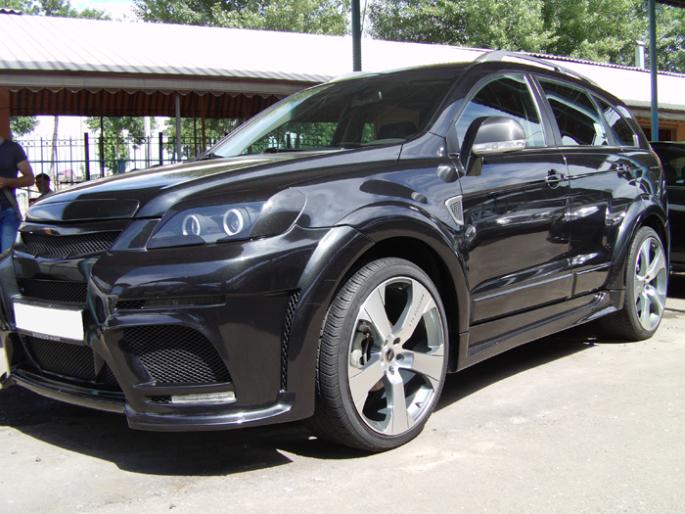 30.Chevrolet Captiva LTZ. 2009 год. Пробег - 40 000 км, цена - 28 000 у.е